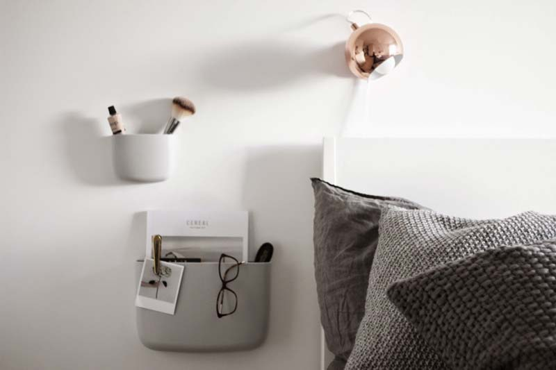 zwevende nachtkastjes normann copenhagen pocket organizer