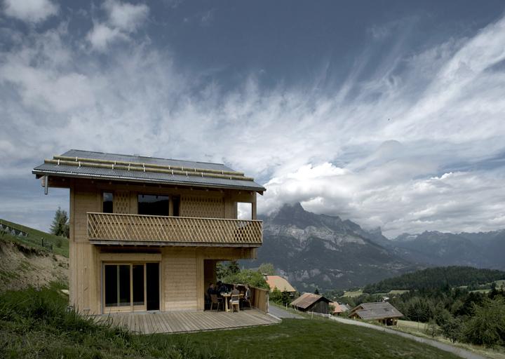 Underlayment Slaapkamer : Chalet in Switzerland