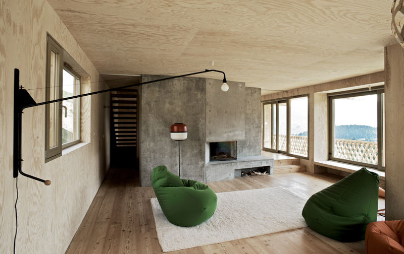 Modern Zwitsers Chalet : Zwitsers chalet inrichting huis
