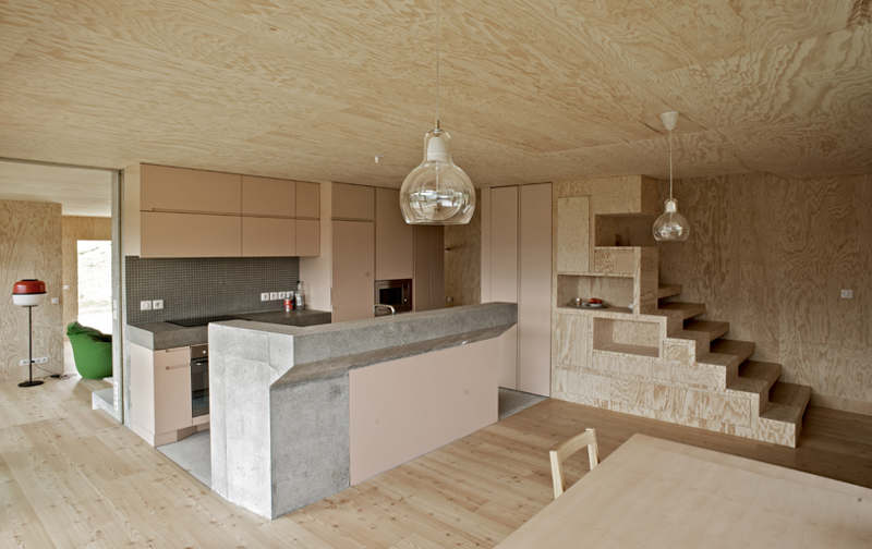 Keuken Underlayment : Plywood House Design Interior